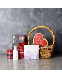 Beaconsfield ValentineâDay Gift Basket, gourmet gift baskets, Valentine's Day gifts, gift baskets, romance