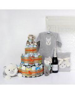 Unisex Baby Gifts, The Huggies & Chuggies Celebration Gift Set,
