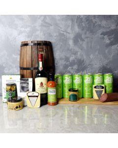 Knob Hill Beer & Spirits Gift Basket
