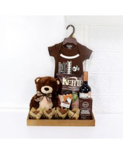 LUXURIOUS GIFTS FOR THE WEE PRINCE, baby boy gift basket, welcome home baby gifts, new parent gifts