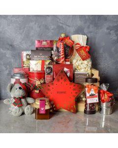 Holiday Sled Gift Basket