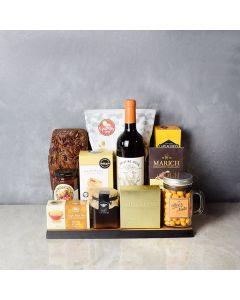 Sweet & Crunchy Wine Gift Set, wine gift baskets, gourmet gift baskets, gift baskets, gourmet gifts