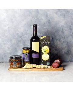 Little Italy Savoury Wine Basket