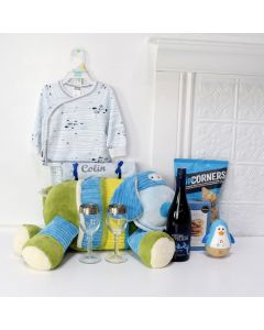NEW PARENT LUXURY GIFT BASKET, baby gift basket, welcome home baby gifts, new parent gifts