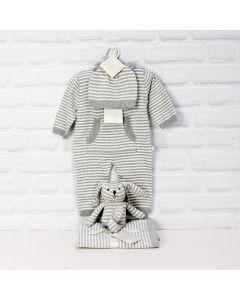 COMFORTABLE UNISEX BABY CLOTHING SET, baby boy gift hamper, newborns, new parents