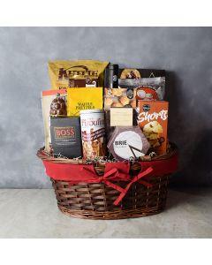 Crunch & Flavor Gourmet Feast, gourmet gift baskets, wine gift baskets, gourmet gifts, gifts