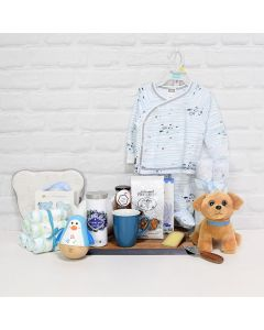 LOVE YOU BABY GIFT SET, baby gift basket, welcome home baby gifts, new parent gifts