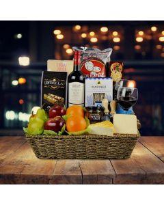 Custom Wine Gift Baskets