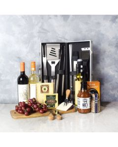 Fire It Up BBQ Gift Basket