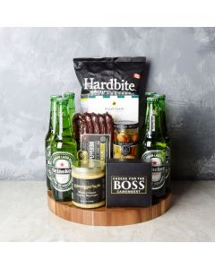 Six Pack & Snack Gift Set, beer gift baskets, gourmet gifts, gifts