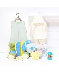 Sleep Tight Baby Gift Set, baby gift baskets, baby boy, baby gift, new parent, baby
