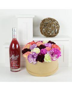 Take Me Away Flowers & Spirits Gift