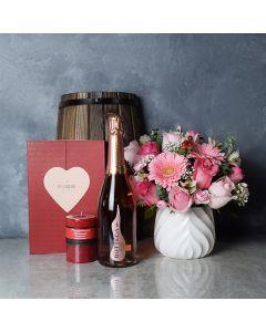 Mississauga ValentineâDay Basket, champagne gift baskets, chocolate gift baskets, Valentine's Day gifts, gift baskets, romance