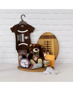 LOVE, PAMPER & HUGS GIFT SET, baby gift basket,, welcome home baby gifts, new parent gifts