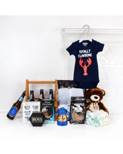 Deluxe Baby Boy Blue Gift Set, baby gift baskets, baby boy, baby gift, new parent, baby
