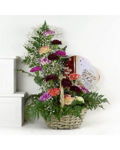 Mixed Wildflower Bouquet Floral Gift Set