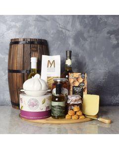 Little Italy Deluxe Liquor Basket