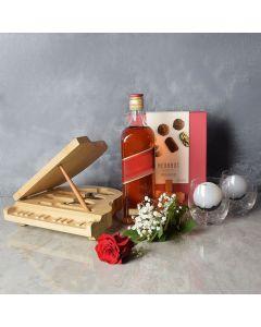 Swansea Liquor & Chocolate Basket