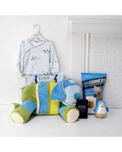 HEâSO CUTE BABY GIFT SET, baby gift basket, welcome home baby gifts, new parent gifts