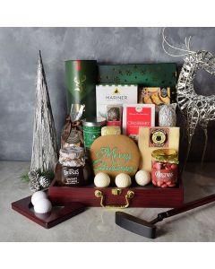 Holiday Golf & Liquor Gift Basket