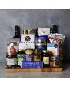 Kosher Grand Feast Wine Gift Basket
