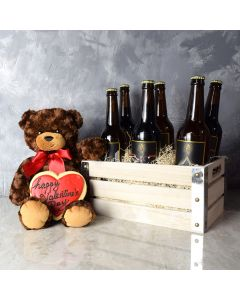 Parkdale ValentineâDay Gift Crate, beer gift crates, gourmet gift crates, Valentine's Day gifts, gift baskets, romance
