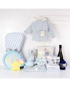 Custom Baby Boy Gift Basket