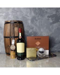 Richmond Hill Liquor & Chocolate Gift Basket