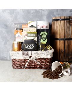 Forest Hill Coffee & Snack Basket, gourmet gift baskets, gift baskets, gourmet gifts