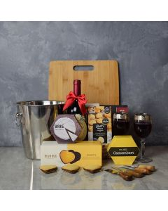 Marvelous Wine & Cheese Basket