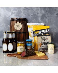 Beer & Munchies Gift Basket