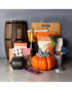 Happy Halloween Champagne Basket