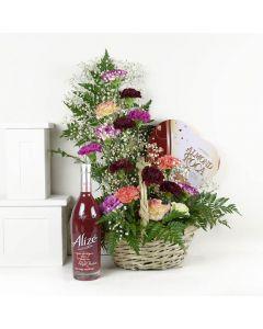 Chocolate & Liquor Mixed Wildflower Bouquet