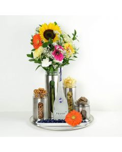 Delightfully Unique Flowers & Spirits Gift