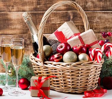 Christmas Baskets Delivered to LA