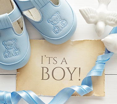 Baby Boy Baskets Delivered to LA