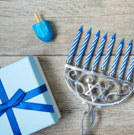 Our Hanukkah Ideas for Mom & Dad