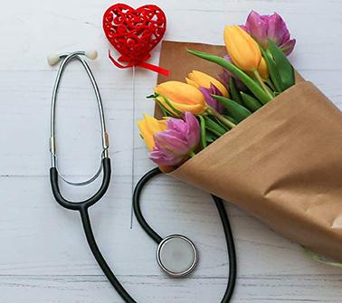 Nurses Week Baskets Delivered to LA